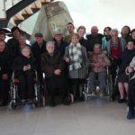 Mayores del Centro de Día de Villamalea se dan cita en la DO Manchuela