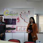 La presidenta de la feria Interwine China visita la sede de la DO Manchuela