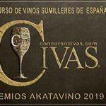 8 nuevas medallas en la III Edición de los Premios AkataVino 2019