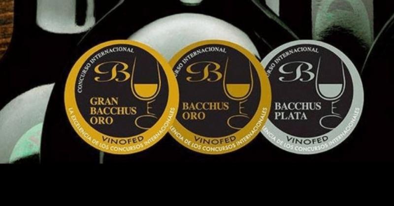 6 medallas en el XVIII Concurso Internacional de Vinos Bacchus 2020