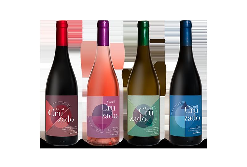 Actuales referencias de vino de Finca Carril Cruzado